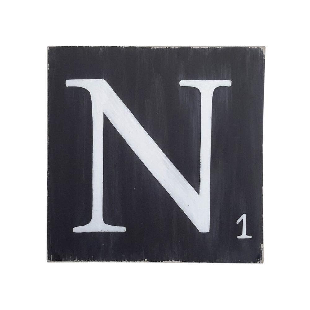 Lettres en bois d co noir - Experte en composants 15 lettres ...