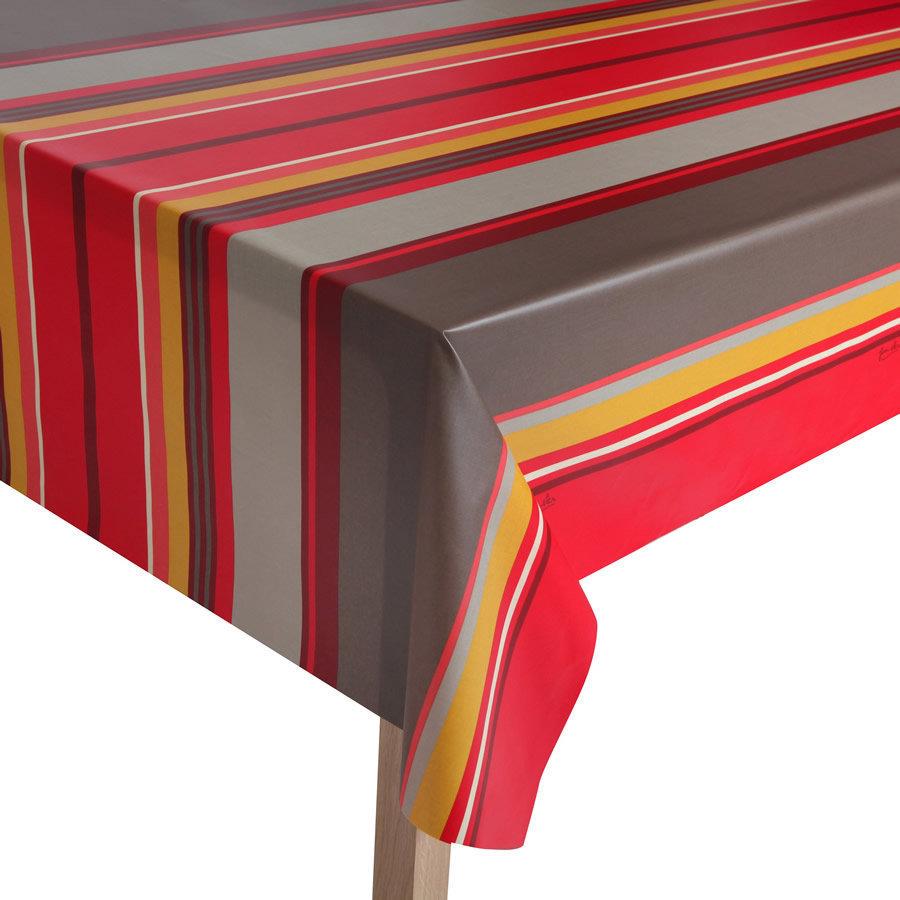 toile cir e rayures basque. Black Bedroom Furniture Sets. Home Design Ideas